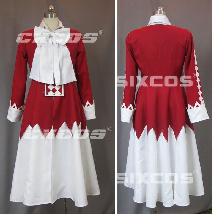 Pandora coeurs Alice Cosplay Costume Halloween uniforme robe de soirée sur mesure toute taille ensemble complet