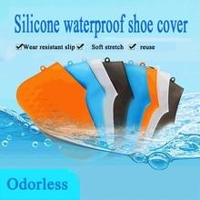 Wiederverwendbare Silikon Schuh Abdeckungen Wasserdicht Nicht Slip Regen Socken Schuh Protektoren Elastische Für Erwachsene/Kinder Indoor Schutz