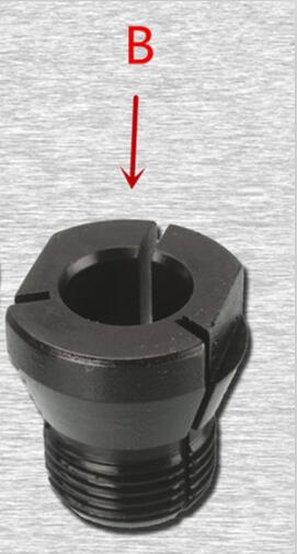 """Collet 1//2/"""" 12.7mm for MAKITA 3601B Collet Chuck 763623-2 763602-0"""