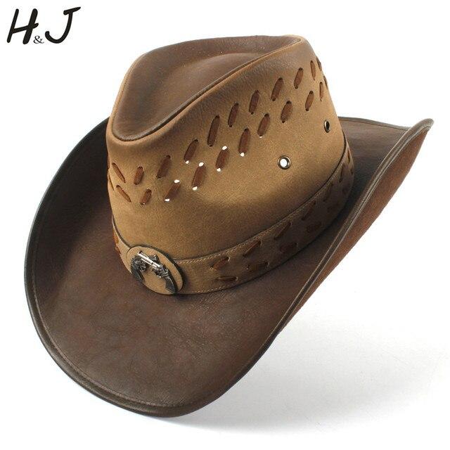 113713ccc74 9 style Women Men Western Cowboy Hat For Dad Gentleman Lady ombrero Hombre  Jazz Caps
