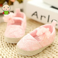 Autumn Lace Baby Shoes 0-1 year old mesh cloth cutet Crib Shoes Soft Sole Anti-slip Toddler Walking Shoes