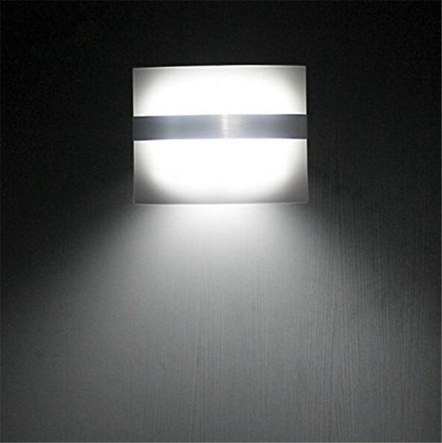 Battery Ed Motion Sensor Led Lamp Wall Human Body Induction Wireless Indoor Night Light