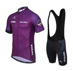 Image 5 - 2019 STRAVA רכיבה על אופניים ג רזי סט קיץ בגדי אופני הרים פרו אופניים רכיבה על אופניים ג רזי ספורט חליפת מאיו Ropa Ciclismo