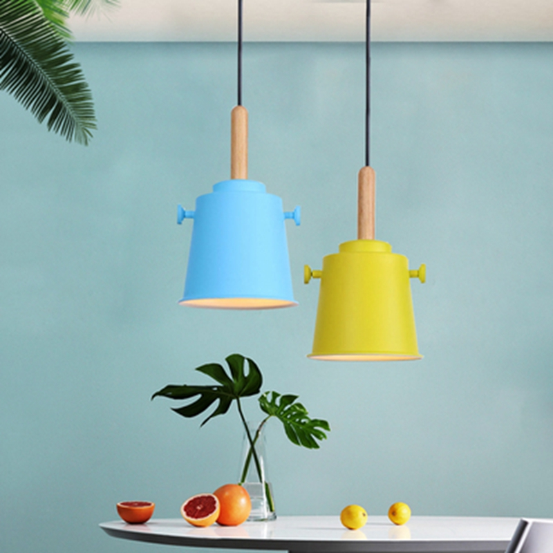 Modern Simple Multi-Color Pendant Lamp Restaurant Bar Corridor Coffee Shop Retro Lights Home Hotel Decoration Pendant LightingModern Simple Multi-Color Pendant Lamp Restaurant Bar Corridor Coffee Shop Retro Lights Home Hotel Decoration Pendant Lighting