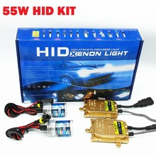 Slim Ballast Kit HID Xenon Bulb 12V 55W  H4 H7 H11 9005 9006 HB3 HB4 H1 H3  Car Light Source 6000K