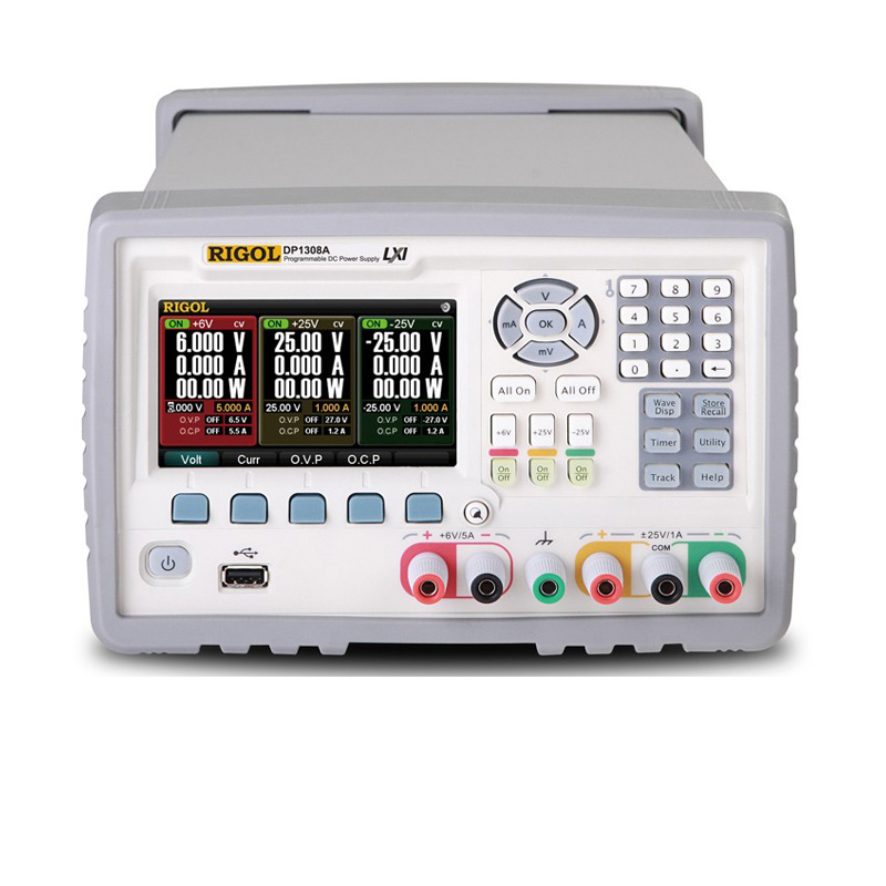 D-1308A Programmable Linear DC Power Supply With TFT LCD Screen