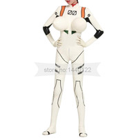 Rubber Latex Inflatable Breast Catsuit Cat Suit Tights for Women Anime Bodysuit BNLC024