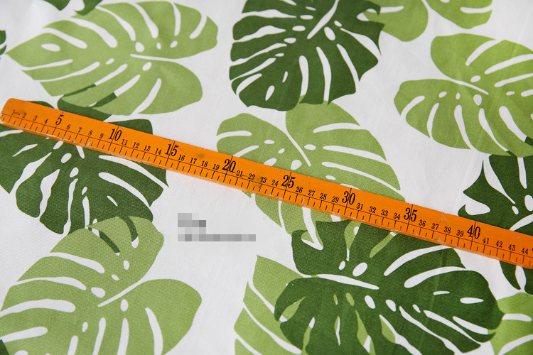 Able 150x100cm Plantain Leaf Cotton Canvas Fabric Patchwork Home Textile Meter Sewing Fabric For Sofa Telas Para Patchwork Cloth Arts,crafts & Sewing