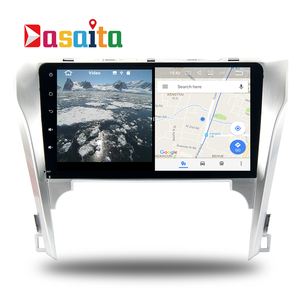 car 2din radio android 71 gps navi for toyota camry v50
