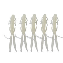 5pcs/lot 72mm 1.8g Plastice Fishing Lure iscas artificiais para pesca Smell Attractive Fish Crab Fishing Bait Soft Bait FA-394