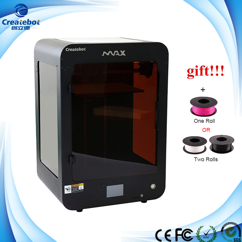New Item full metal 3D Printer 2 Spools Filament Gift