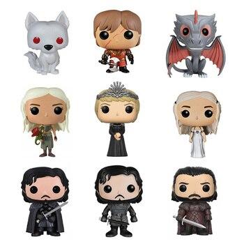 Movie Bức Tượng Nhỏ Trò Chơi của Of Thrones Nendoroid PVC Figma Con Búp Bê Nhựa Vinyl Jon Tuyết Daenerys Song Of Ice Và Fire Hành Động & đồ chơi Con Số