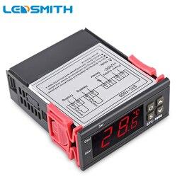 LEDSMITH LED Digital Controlador de Temperatura STC-1000 12 V 24 V 220 V Termorregulador Aquecedor termostato E Controle Térmico