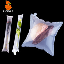 Hat Flower Live Fish LogisticTransport Package Bag Deformation Open Heat Seal Protection Double Layer Inflatable Bubble Buffer