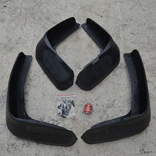 Free Shipping High Quality ABS Plastics Automobile Fender Mudguards Mud Flaps For 2012-2014 Honda Civic