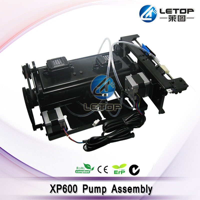 xp600 Printhead Cleaning Station XP600 Double Head Capping Station Assembly Black