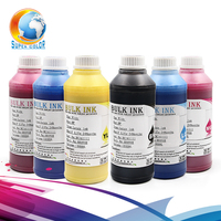 For Pure Coton Fabrics Digital Pigment Dtg Textile Printing Ink For Epson R1800 R1900 R2000 Printer