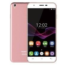 "Original Oukitel U7 Max 3G 5.5"" HD 2.5D Arc Screen Smartphone Android 6.0 MTK6580 Quad Core 1GB+8GB 8.0MP Mobile Phone 2500mAh"