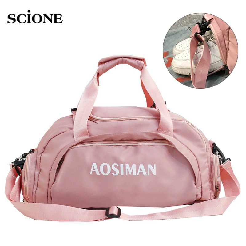 Gym Bags Fitness Backpack Training Bag Women Men Tas For Dry Wet Travel Yoga Mat Sac De Sport Swimming Mochila Sporttas XA831WA