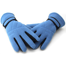 2016 New Outdoor Sport Warm Full Finger Gloves Windproof Anti-skid Cycling Bike Bicycle Long Gloves Six Color