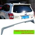 Für Subaru forester 2013 2017 Heckspoiler Spoiler  Trunk Boot Flügel Spoiler farbe ABS Schraube installation OEM stil-in Spoiler & Flügel aus Kraftfahrzeuge und Motorräder bei