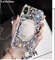 Роскошный блестящий чехол LaMaDiaa для iPhone 11 Pro MAX 6 6s 7 8 Plus 5 SE X XR Xs Max
