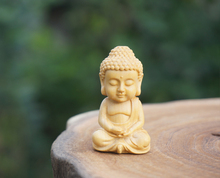 Wooden Bead Carved Buddha Pendant Mala Beads Japa Mala Bracelet Jewellry Findings DIY Accessories