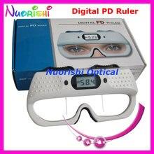 CE الموافقة قياس البصريات حاكم العيون الرقمية pupilmeter PD حاكم مقياس قياس اختبار HE710 أدنى تكلفة الشحن