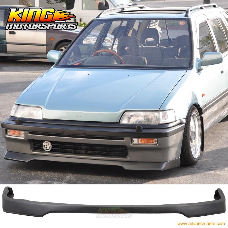 88 Civic: For 88 91 Honda Civic Front Bumper Lip Spoiler