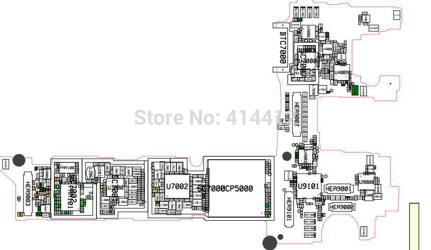Note4 Galaxy Note 4 Smart Phone Repair Reference Schematic Pcb Board Diagram Maintenance Manual