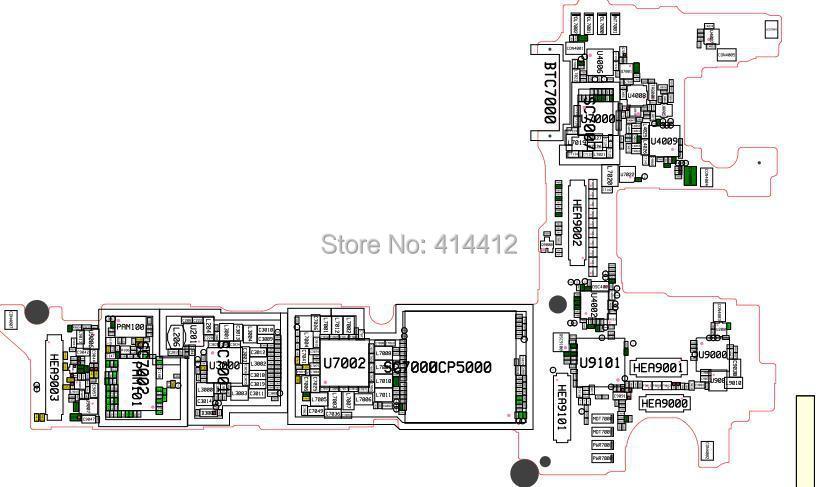 Note4 Galaxy Note 4 La Reparaci U00f3n Del Tel U00e9fono Inteligente Referencia Esquema Pcb Diagrama