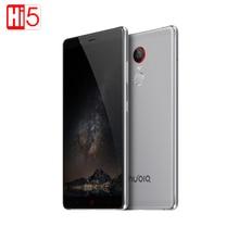 ZTE Nubia Z11 Max Мобильный Телефон 6.0 дюймов Snapdragon 652 MSM8976 Octa Core 4 ГБ RAM 64 ГБ ROM Сетевые 4 Г 16 МП Камера Dual SIM