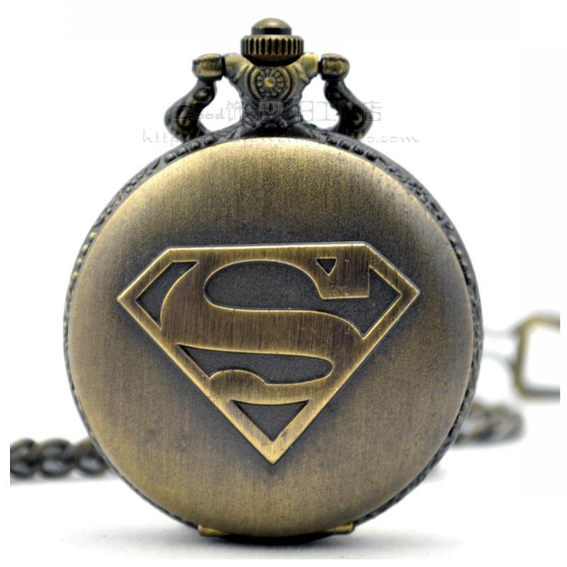 pocket watches men best pocket watch 2017 dial 45mm superman standard the retro fashion pocket