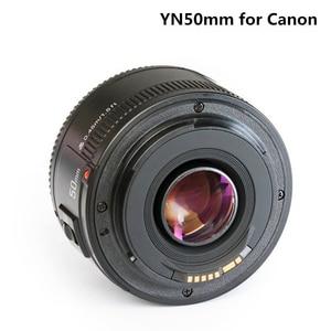 Image 2 - YONGNUO YN50mm F1.8 كاميرا عدسات لنيكون F كانون EOS السيارات التركيز عدسة فتحة كبيرة ل DSLR كاميرا D800 D300 D700 D3200 D3300