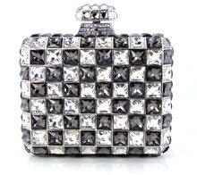 YU16-2 Kristall Abendtasche Clutch Pfau diamant pochette soiree Frauen abend handtasche hochzeit clutch tasche