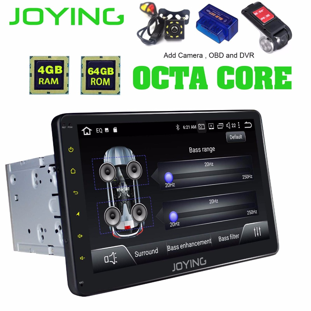 "10.1 ""Unitate de cap IPS dublă 2Din Universal Android 8.1 Car radio stereo GPS Navigație Multimedia Muzică FM Bluetooth WIFI Player"