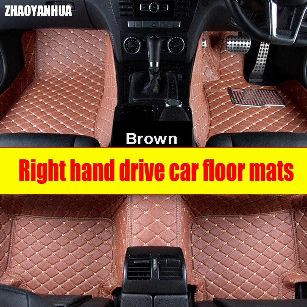 ZHAOYANHUA Right hand drive car car floor mats for Infiniti QX70 FX FX35 FX37 G35 G37 Q50 EX35 G25 accessories car-styling carpeZHAOYANHUA Right hand drive car car floor mats for Infiniti QX70 FX FX35 FX37 G35 G37 Q50 EX35 G25 accessories car-styling carpe