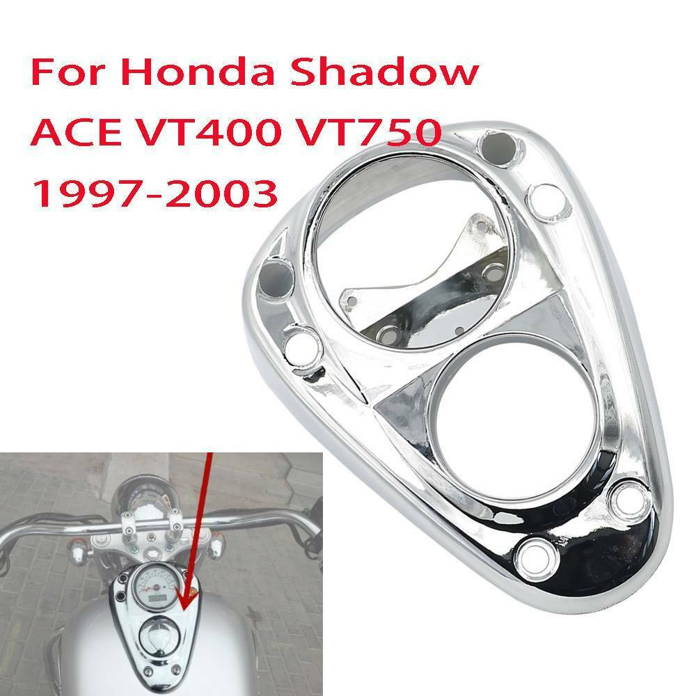 Speedometer Gauges Odometer Tachometer Cover Tank Lock Covers For Honda Shadow VT400 VT750 VT 400 750