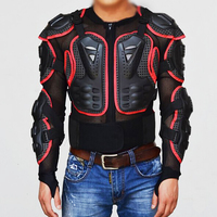 BLACK RED Motorcycle Professional Jackets Motorcross Motorcycle Racing Body Armor Jacket