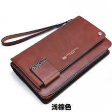 2016 men's new hand bag Hit color Wallet Card package wallet Money Clips   Wallets & Holders