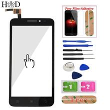 Touchscreen Touch For Lenovo A606 A 606 Touch Screen Digitizer Panel Front Glass Lens Sensor Tools Adhesive + Screen Protector