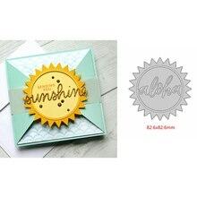 Sunshine Metal Cutting Dies Stencil Card Album Embossing Scrapbooking Template DIY Crafts New 2019
