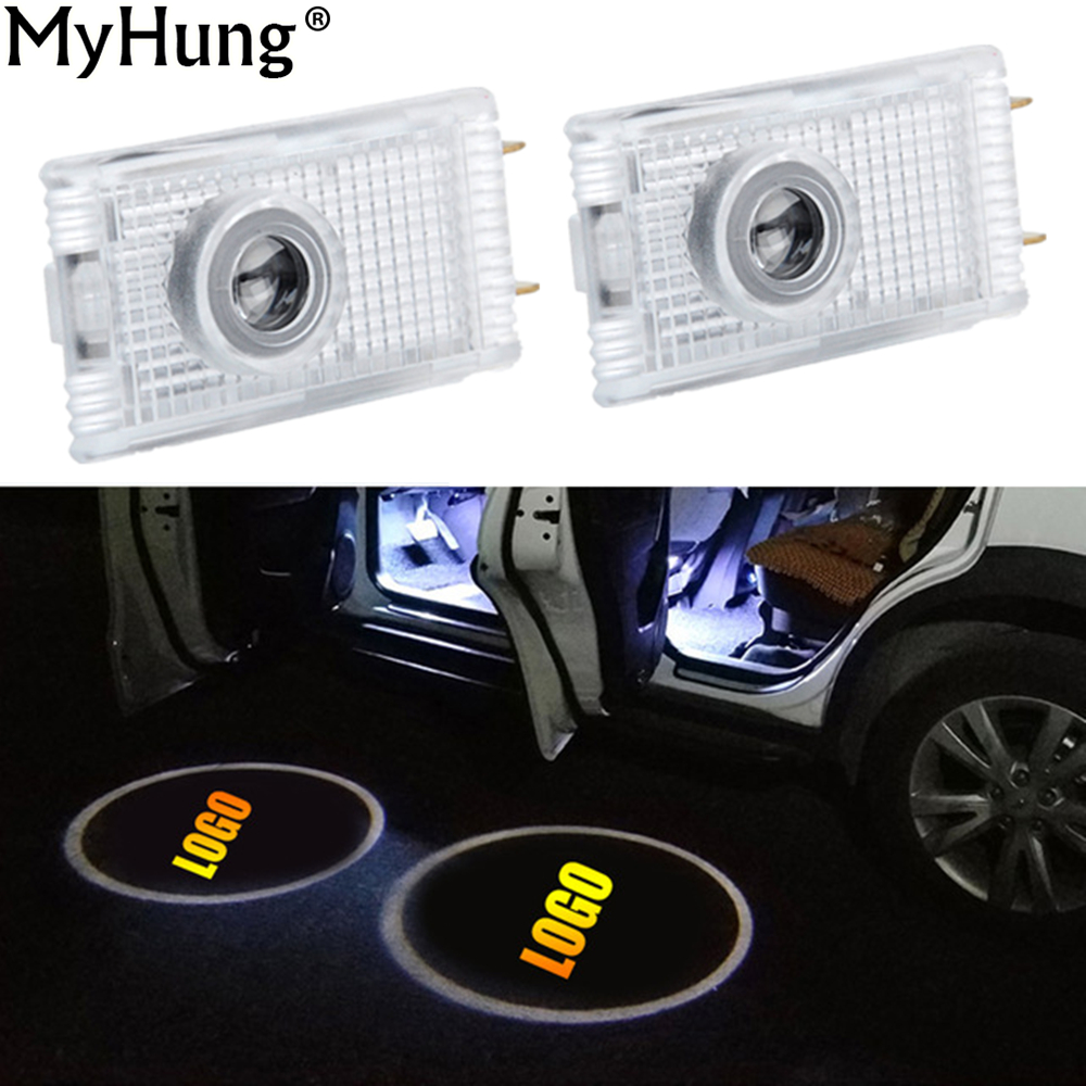 LED Car Door Projector Logo Emblem Laser Shadow Welcome Light For Opel Insignia The Lighting In The Door Car Styling 1pair factory price sale 2x7w led car door logo ghost welcome light laser projector shadow emblem for s koda for o ctavia