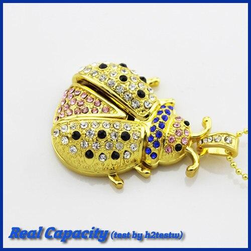 free shipping genuine pen drive beatles usb jewelry flash drive metal diamond usb stick 16gb pendrives gift 4gb 8gb 16gb 32gb