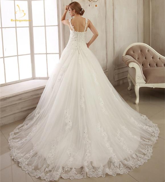 Beaded wedding dresses 2018 plus