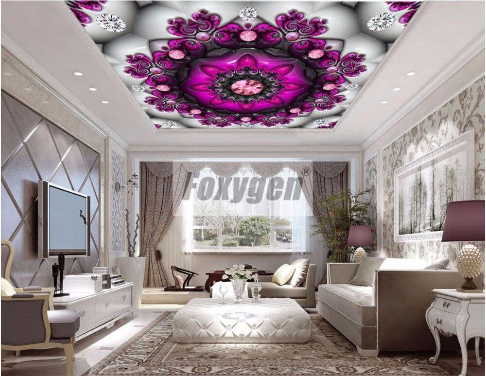 Foxygen plafond en muur decoratie materialen pvc opgeschort valse