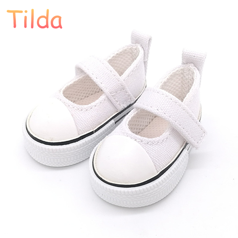 Tilda 6cm Toy Shoes For Doll Paola Reina 32cm,Fashion Sneakers For Dolls,1/4 Bjd Toy Shoes For Corolle Accessories For Dolls