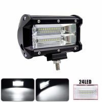 Car LED Light Offroad 5INCH 72W LED Work Light Bar Spotlight 12V 24V CAR TRUCK SUV