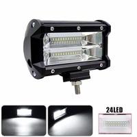 Car LED Light Offroad 5INCH 72W LED Work Light Bar Spotlight 12V 24V CAR TRUCK SUV