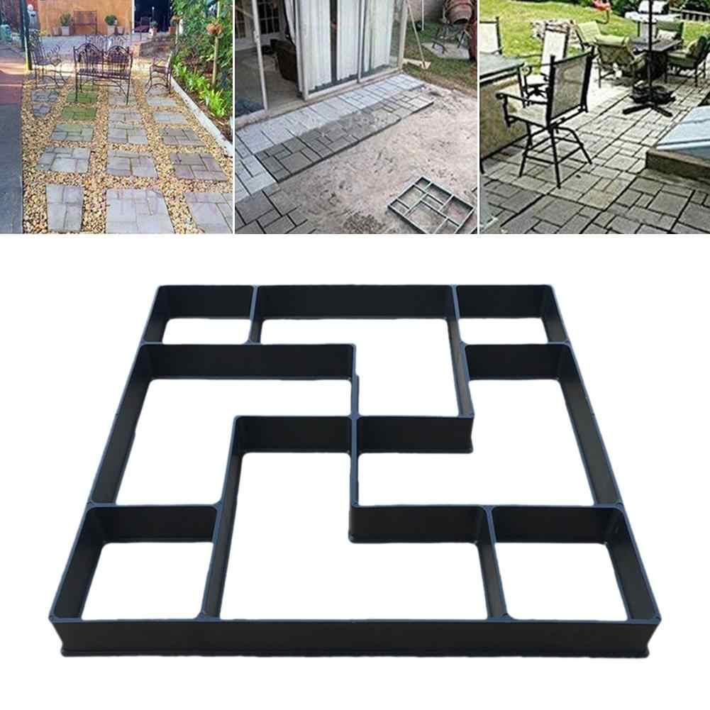 pavimento de jardín molde de hormigón DIY, Molde para pavimento de jardín